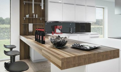 cocina barras madera americana cocinas barra bar kitchen kuhinje modern sillas za šankom sa moderno diseno negras bench stone estilo