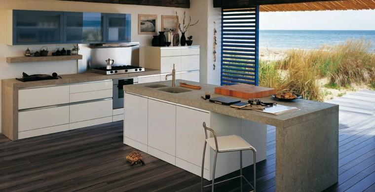 Cocinas modernas con isla 100 ideas impresionantes