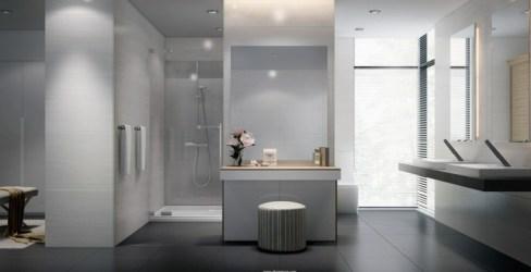Diseño de baños en color gris 50 ideas inspiradoras