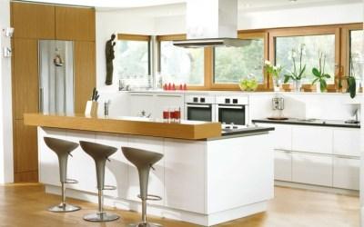 barra cocina americana cocinas barras comedor estilo modelos mesas bar madera kitchen como condo ventanas isla abierto hogar casaydiseno mueble