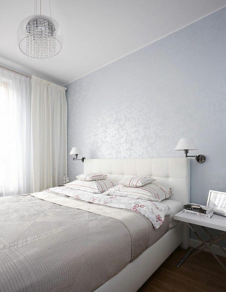 Habitacion color blanco luminosidad y frescura en 50 ideas