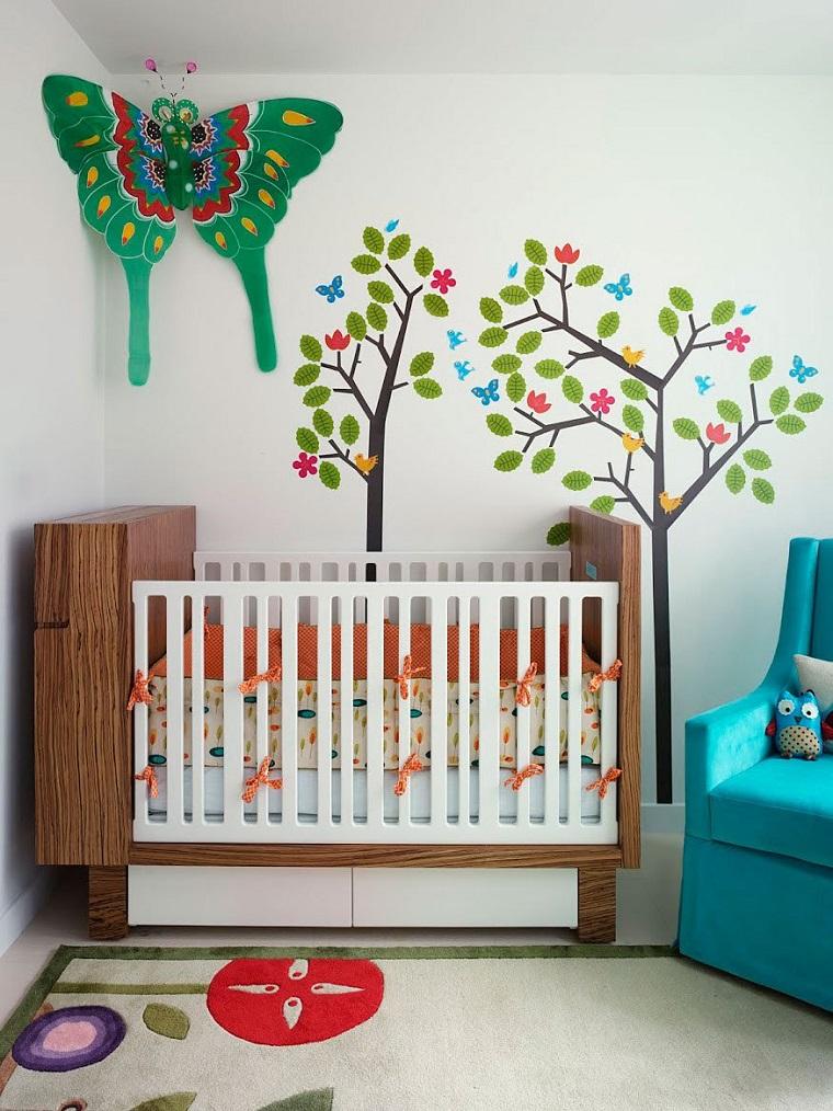 Ideas para habitaciones de beb muy modernas