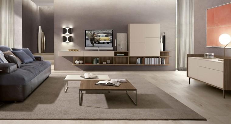Muebles de saln modernos 50 ideas impresionantes