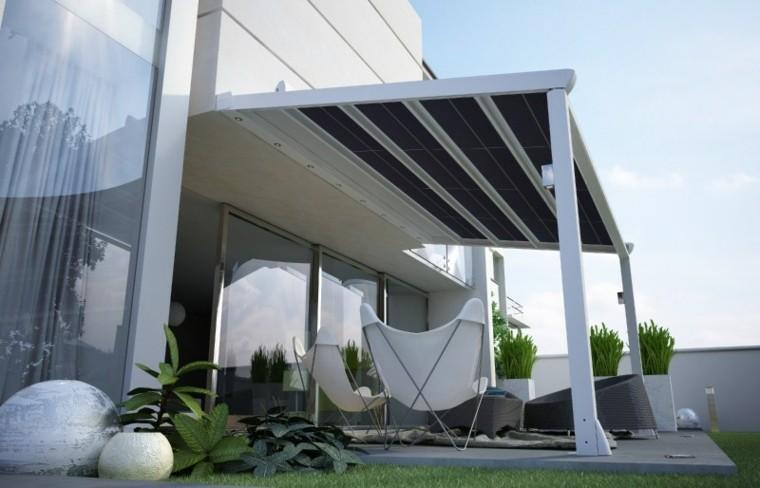 Ideas interesantes de prgolas en el jardn o terraza