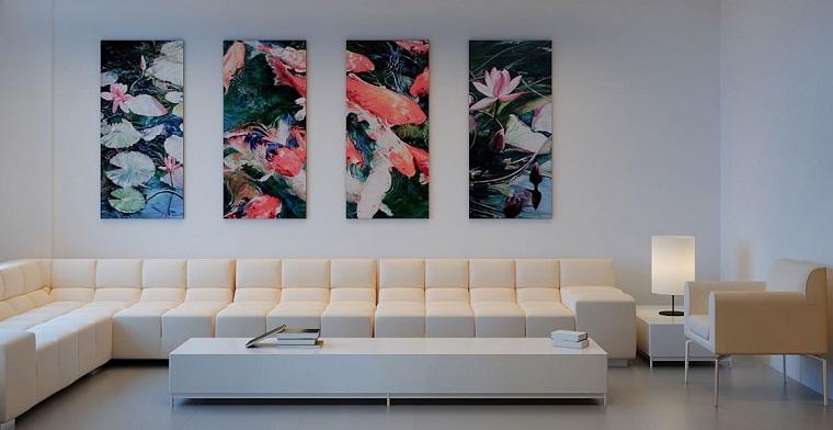 Ideas para decorar una pared de saln que impresionan