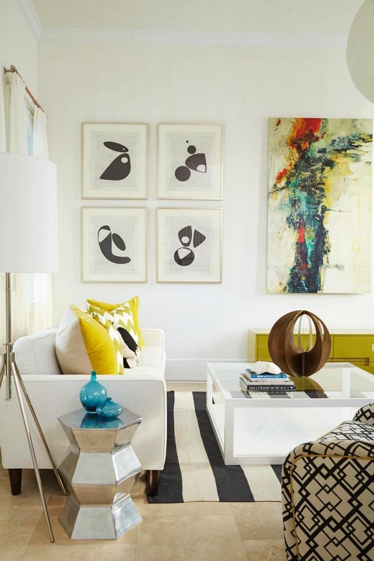 Decorar con cuadros 25 ideas para el hogar moderno