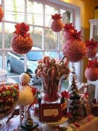 Adornos de navidad, ideas increbles para ventanas.