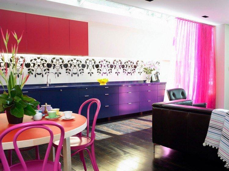 Decoracion de cocinas a todo color  78 ejemplos