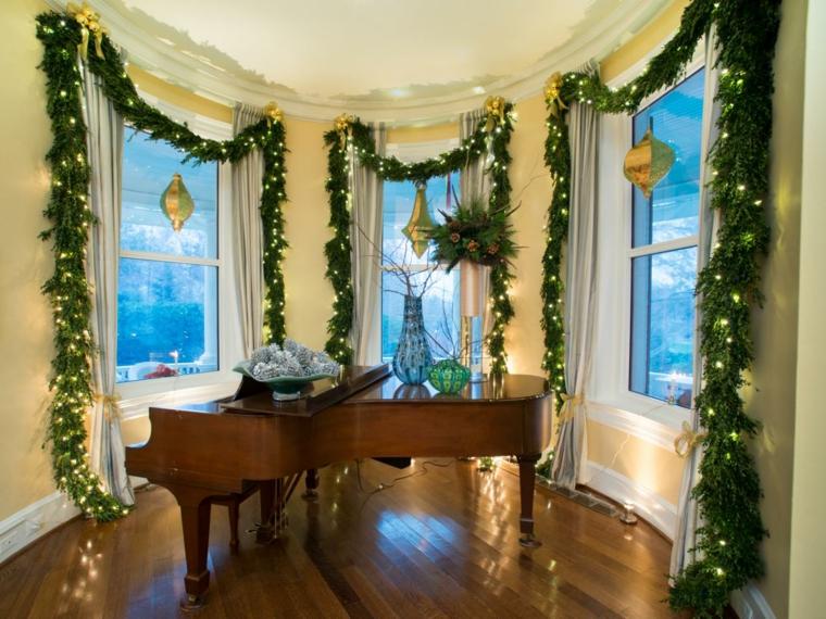 Adornos de navidad ideas increbles para ventanas