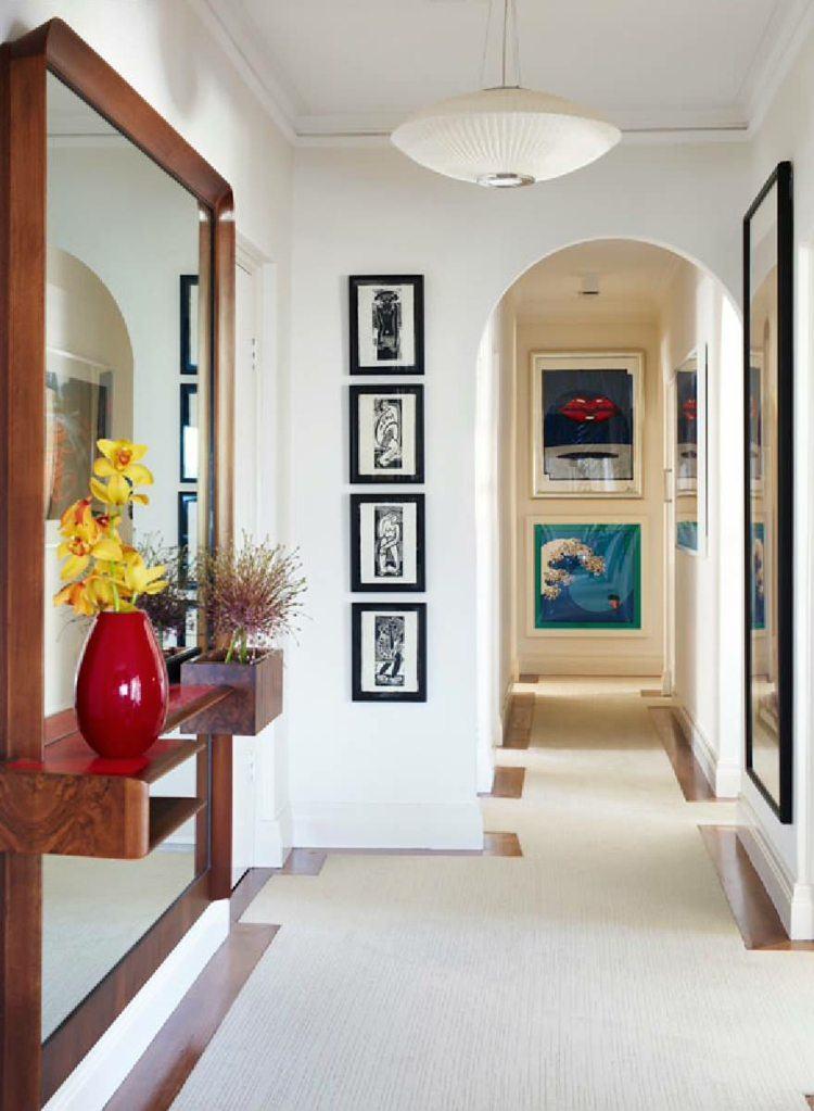 Entradas y recibidores con encanto  50 ideas para decorar