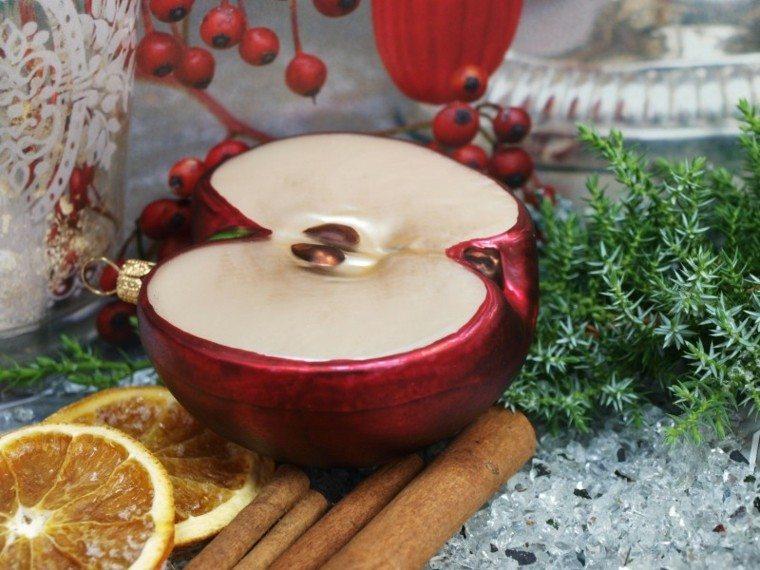 Ideas de decoracion con manzanas para este otoo
