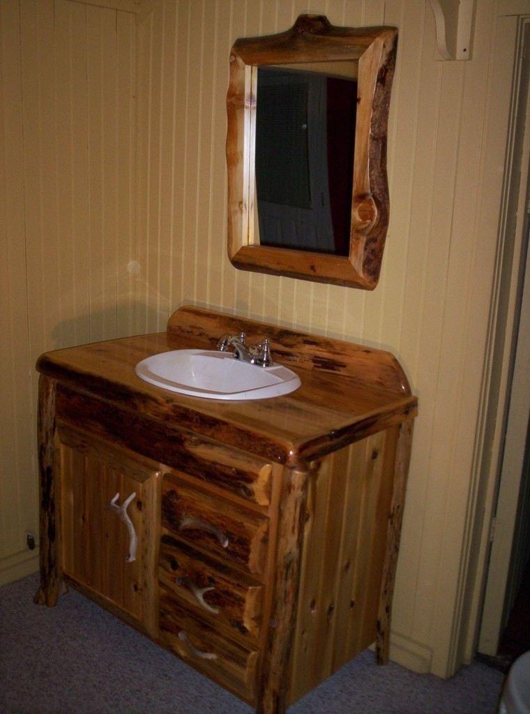 Decorar baos con muebles de bao y accesorios vintage