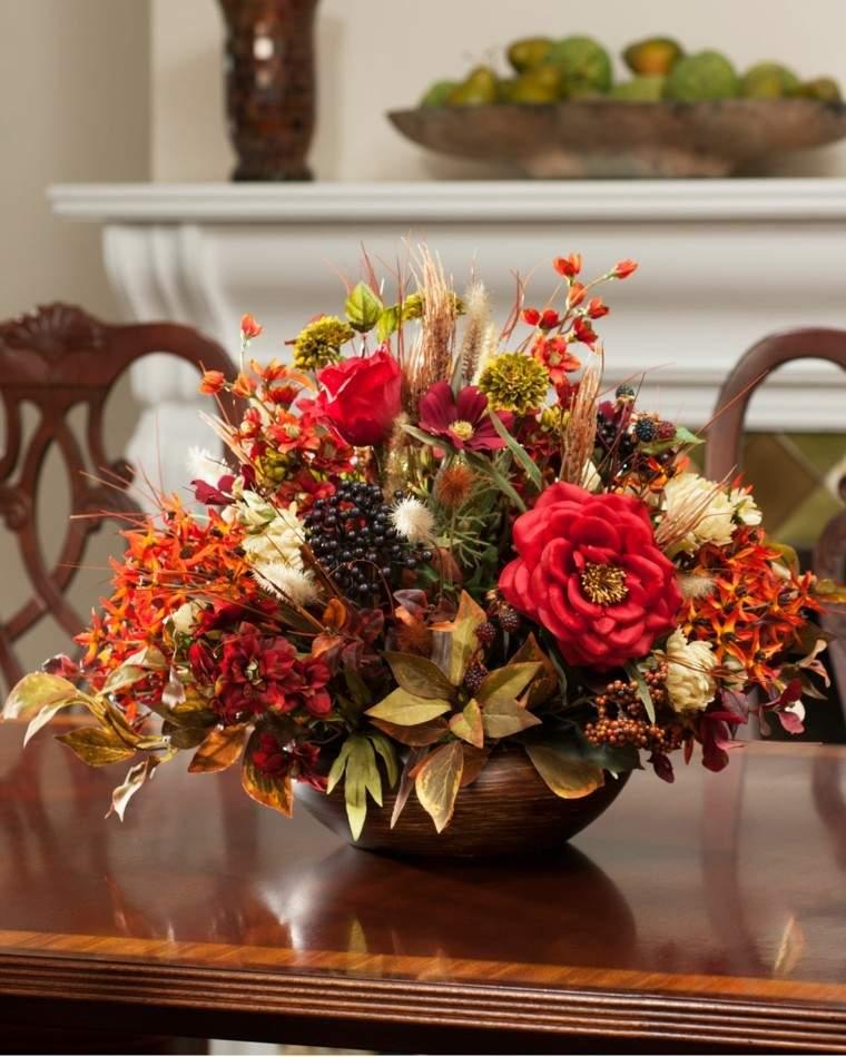 Otoo en casa 50 ideas para decorar tu mesa