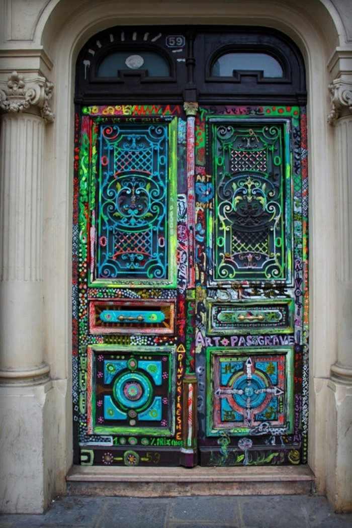 Puertas de entrada de casas antiguas  25 diseos