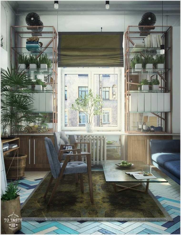 Estudios y apartamentos tipo loft de diseo moderno