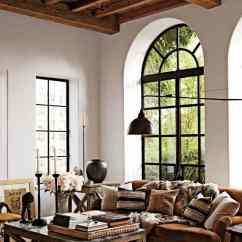 Sofas Modernos Para Sala De Tv Leather Sofa Amazon Salones Rusticos: 50 Ideas Perfectas Casas Campo