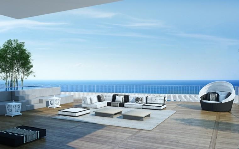 Suelo terraza  25 ideas de diseo y decoracin