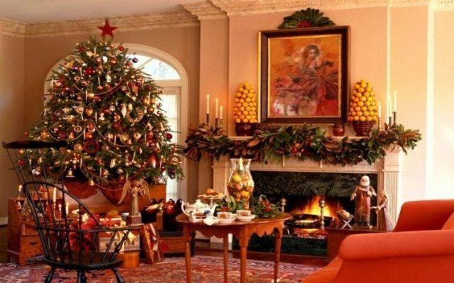 arbol navidad decorado motivos navideños
