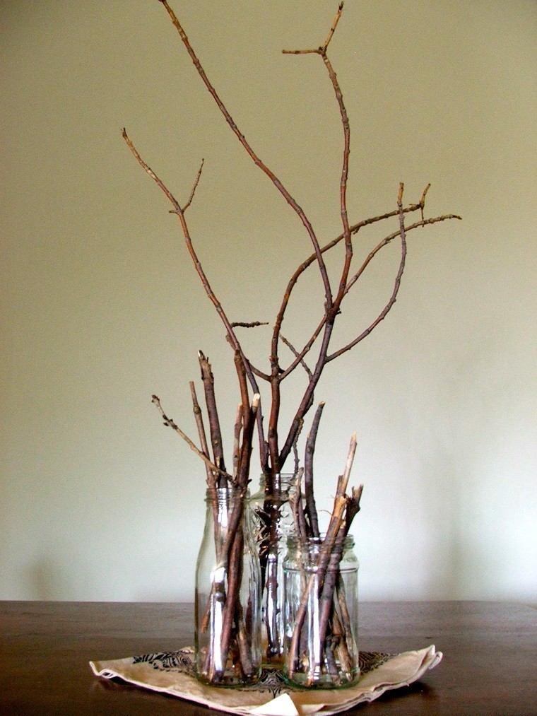 Arboles ideas de decoraciones hechas por ramas
