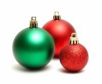 Combinacion de colores tpicos navideos - rojo y verde