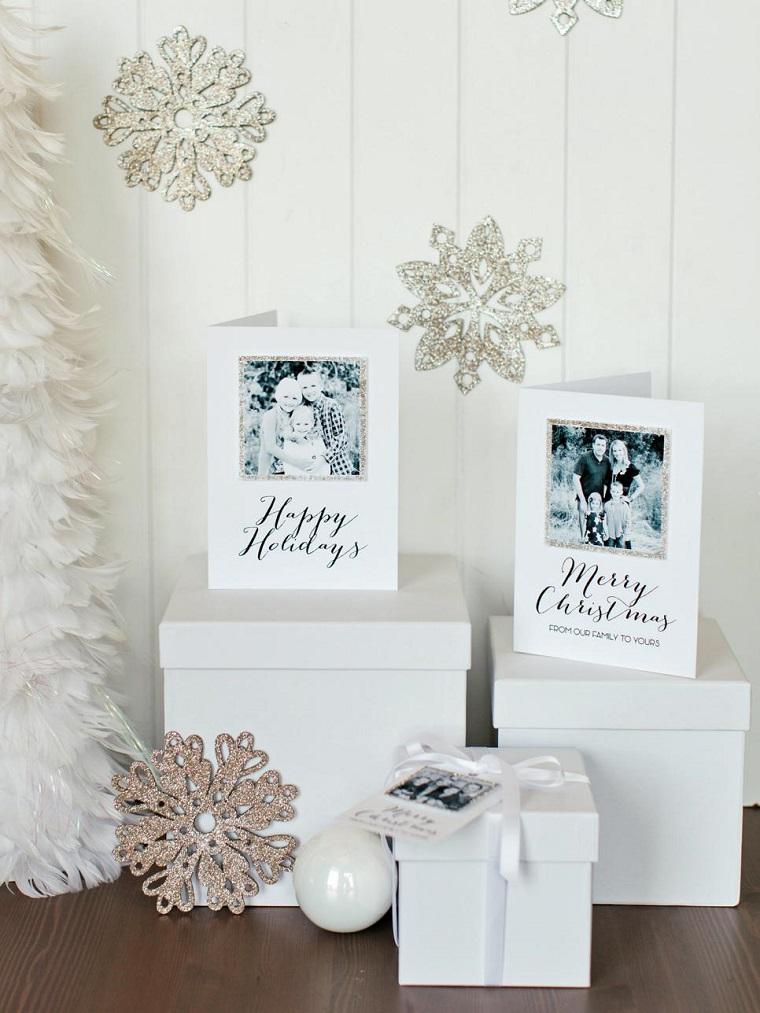 Color blanco oro y plata ideas para los adornos navideos