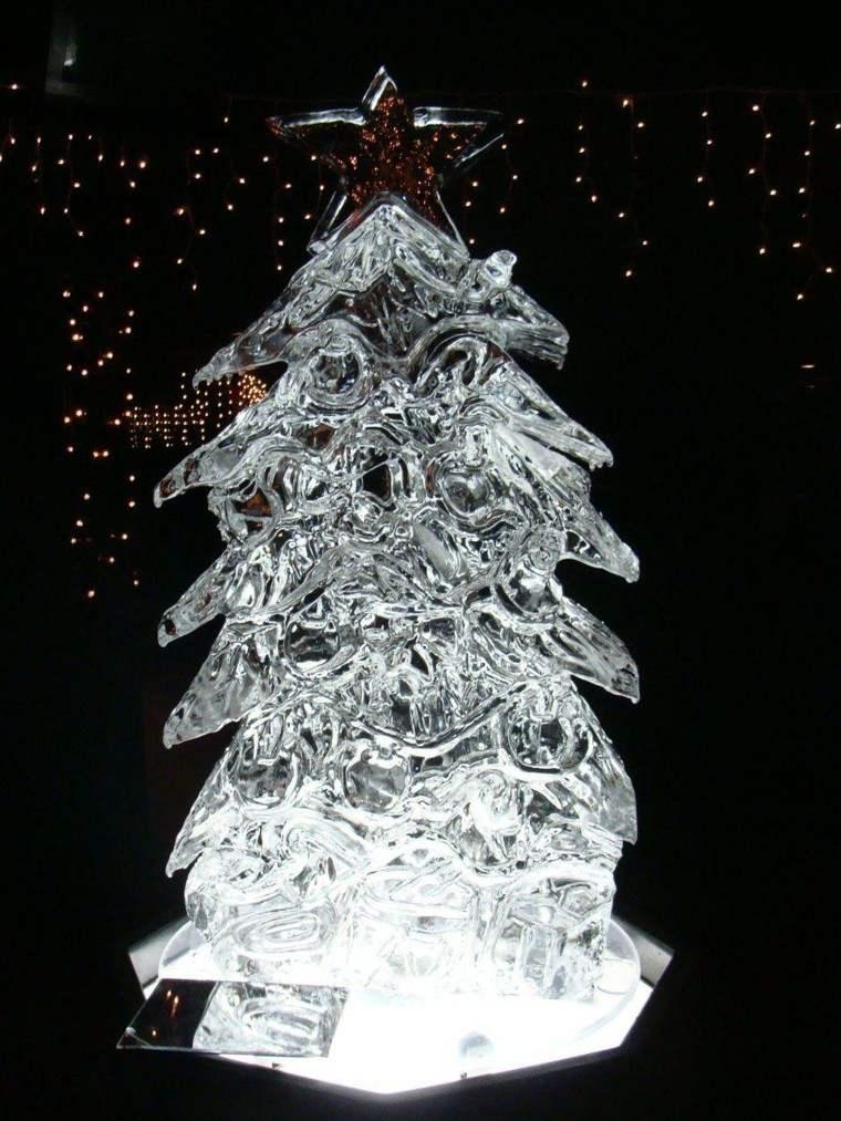 Decoracion navidad hielo para decorar el jardn