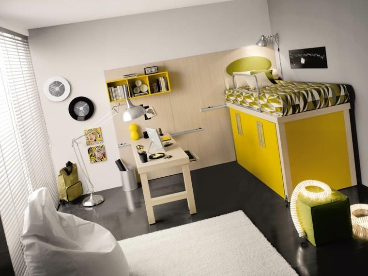 Dormitorio juvenil ideas originales para tu chico