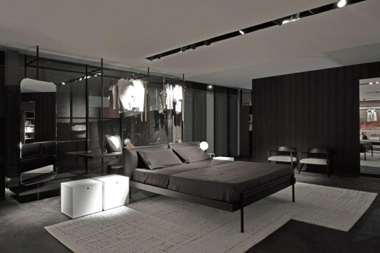 Estilo sexy en el dormitorio masculino 50 ideas brillantes