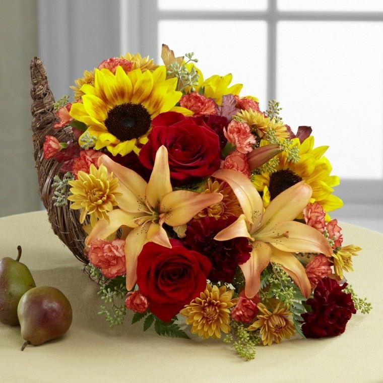 Fotos de flores de otoo para decorar la casa