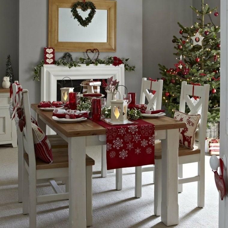Comedores navidad y decoracin ideas impactantes