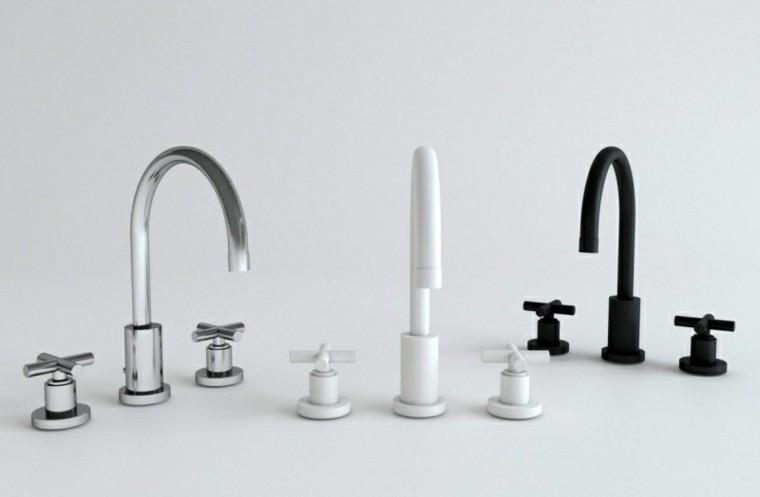 Grifos de cocina y accesorios de bao en negro  50 ideas
