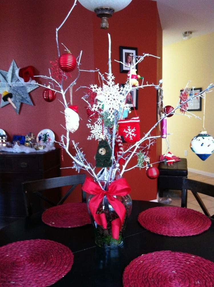 Cena de navidad  cincuenta ideas para decorar la mesa