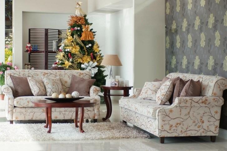 Como decorar un salon para la navidad  50 ideas