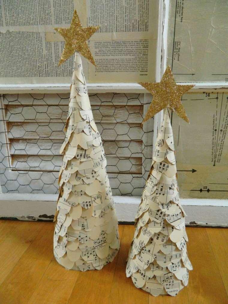 Partituras musicales para la decoracin de navidad