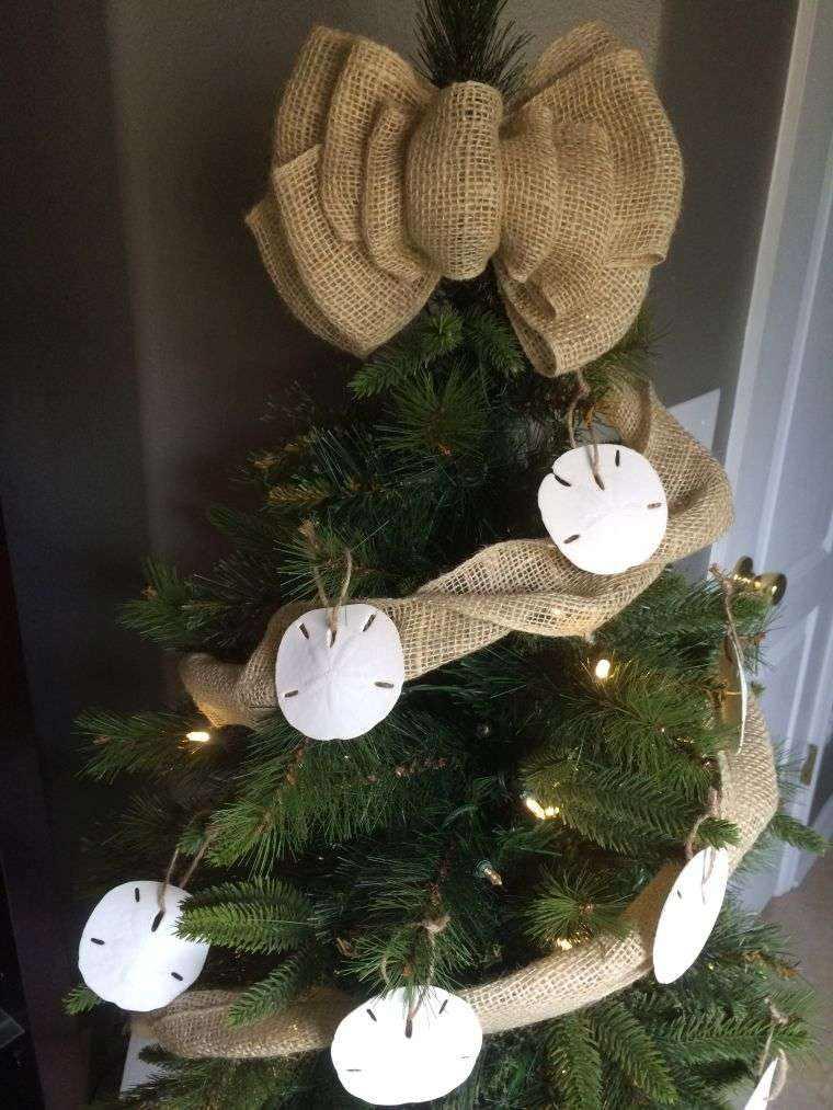 Arbol De Navidad Decoracion Preciosa Con Lazos