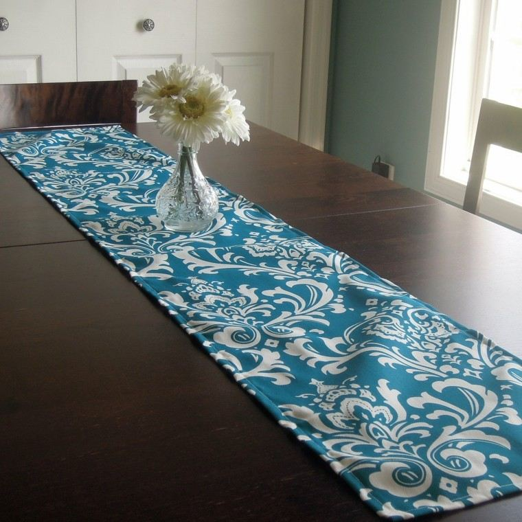 Caminos de mesa 35 ideas para decorar la mesa