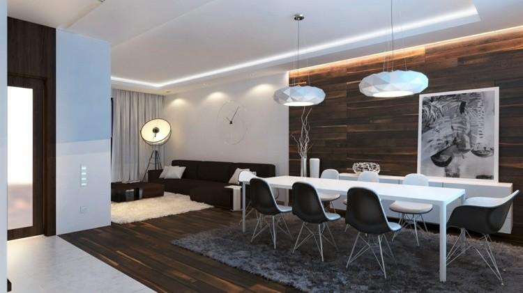 Comedores ideas para elegir forma y color de la alfombra