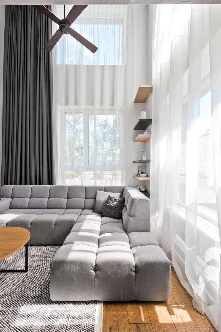 Diseo de interiores loft al estilo escandinavo muy moderno
