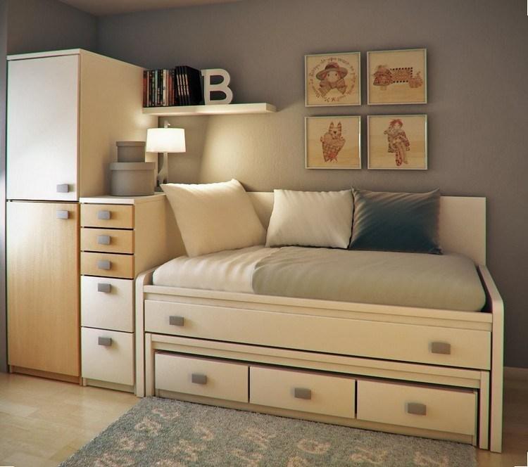 Habitaciones juveniles muebles para espacios pequeos