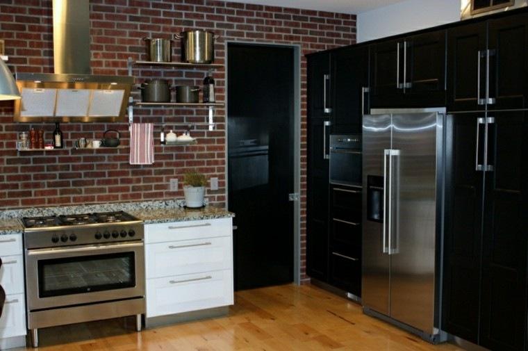 Color negro para la cocina 50 ideas creativas y diferentes