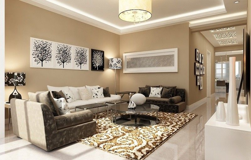 White Is The New Color Living Room Walls