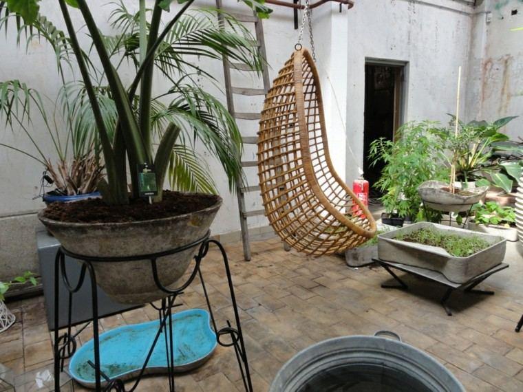 rattan egg chair alex arhaus columpio de mimbre para el jardín - placer balancearse