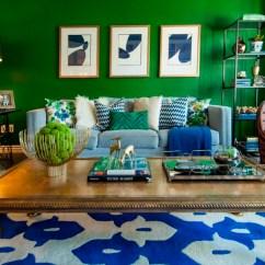 Navy Blue Sofa Living Rooms Modern Room Artwork Colores De Pintura 50 Ideas Para El Salón
