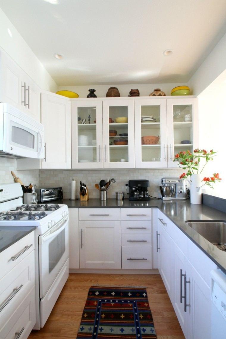 Cocina pequea con mucho estilo  38 ideas