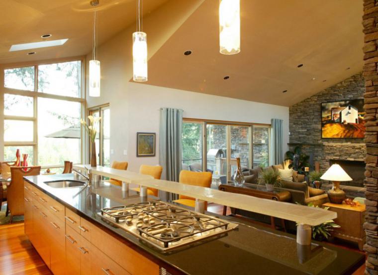 Open Kitchen Floor Plans Pictures