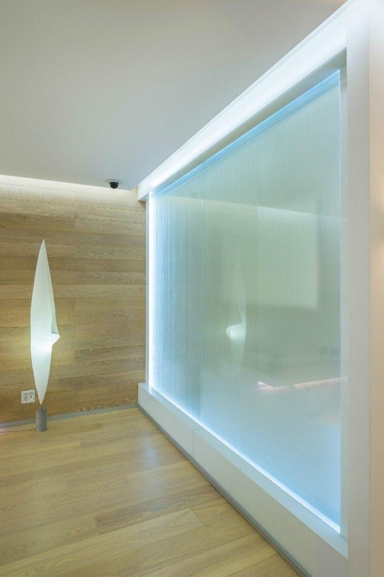 Iluminacion opciones originales para la pared