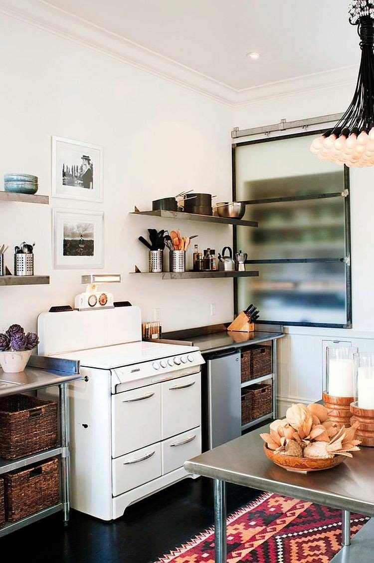 Shabby chic cocinas elegantes para personalizar tu hogar