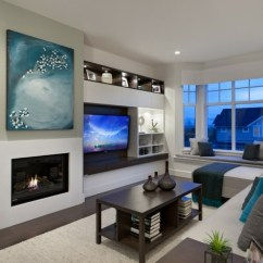 Living Room Arrangements For Small Spaces Design With Hardwood Floors Chimeneas Bioetanol Y Televisor Integrado En La Pared