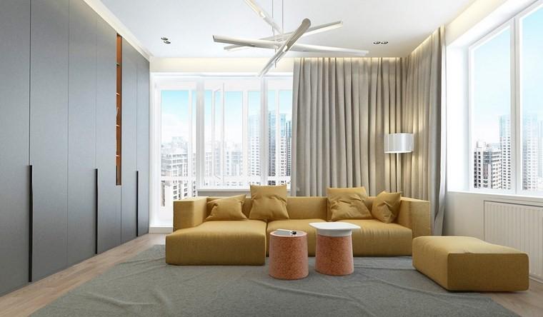 Decoracion salones e ideas para muebles modernos