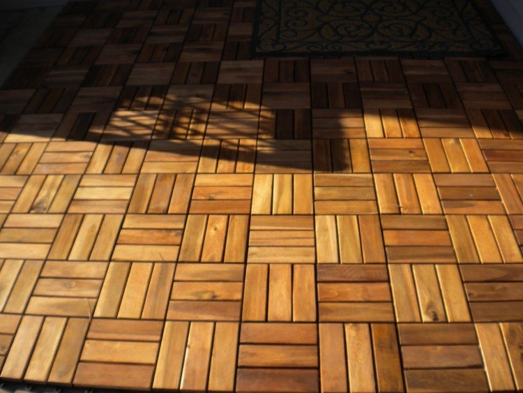 Suelos de madera 50 ideas para el balcn